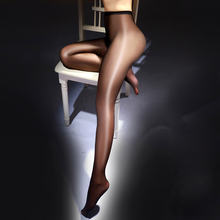2019 New Stocking For Women Shinny Oil Gloss Stocking Pantyhose Plus Size Long Open Crotch Sexy Stocking Lingerie Sex Underwear stocking book