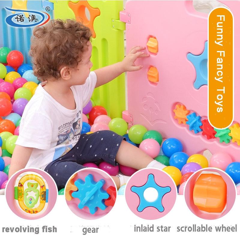 Indoor Baby Kojec Outdoor Kids Graj w gry Fence Toddler Crawl - Aktywność i sprzęt dla dzieci - Zdjęcie 2