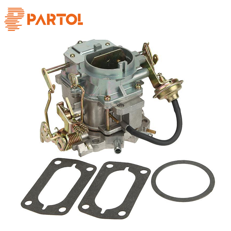 Partol Zinc Alloy Car Carburetor Carb for Plymouth Models for Dodge Truck 1966-1973 Engine Carter Carburetor Replacement high quality replacement carburetor parts tool fit for 250 xv250 1988 2014 carb