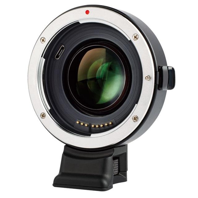 Viltrox EF-E II Lentille adaptateur de montage AF Mise Au Point Automatique Réducteur Vitesse adaptateur d'amplificateur pour Canon EF Objectif à Sony NEX E A9 a7 A7R A7SII