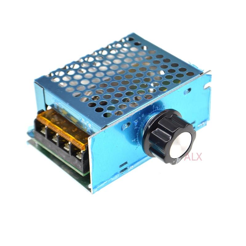 AC 220V 10-220V SCR Motor Speed Controller Module Voltage Regulator Dimmer New