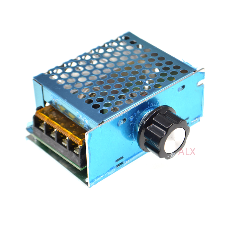4000W 220V AC SCR Motor Speed Controller Module Voltage Regulator Dimmer HighQ S