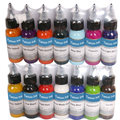 Tintas del tatuaje 14 Colores 30 ml/bottle Tatuaje Tintas de Pigmento Para Body Art Tattoo Kit Envío Gratis
