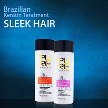PURE 5 Brazilian keratin hair treatment 100ml keratin hair straightening treatment hot sale keratin smoothing free