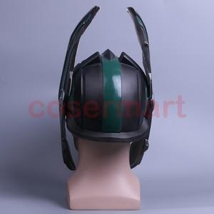 Image 4 - 2017 Thor 3 Ragnarok Helmet Cosplay Thor Helmet PVC Mask Handmade Halloween Mask Caps New