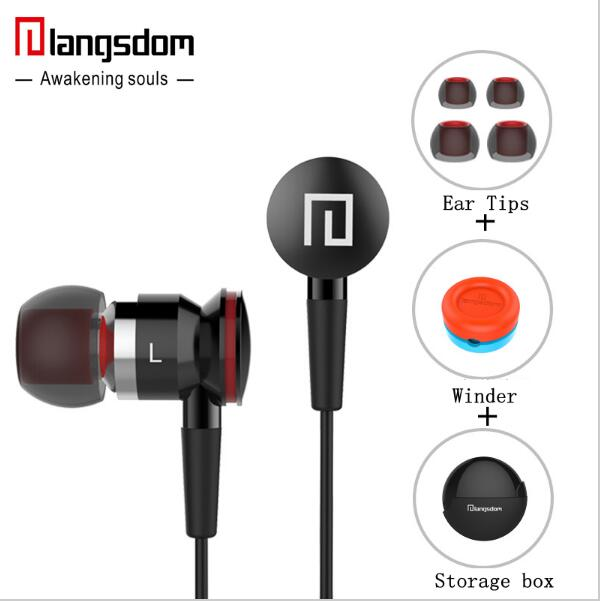 Langsdom A10 Super Bass In-ear Earphone HIFI Music Earplugs Metal Headset with Mic General for phone iPhone xiaomi SONY PC MP3 langsdom a10 super bass in ear earphone hifi music earplugs metal headset with mic general for phone iphone xiaomi sony pc mp3