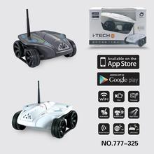 Free shipping 2015 new Wifi Controll rc toys with wifi Camera WIFI Tank for iPhone iPad