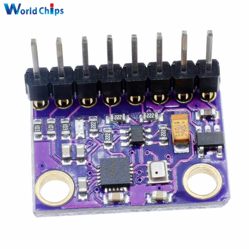 MPU-9250 MPU9250 BMP280 SPI IIC/I2C 10DOF Acceleration Gyroscope Compass  9-Axis Sensor Board Module GY-91 For Arduino 3-5V