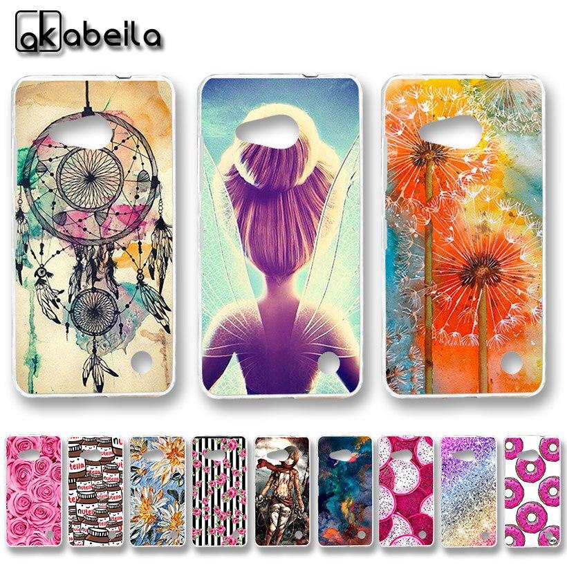 AKABEILA Soft TPU Plastic Phone Cases For Microsoft