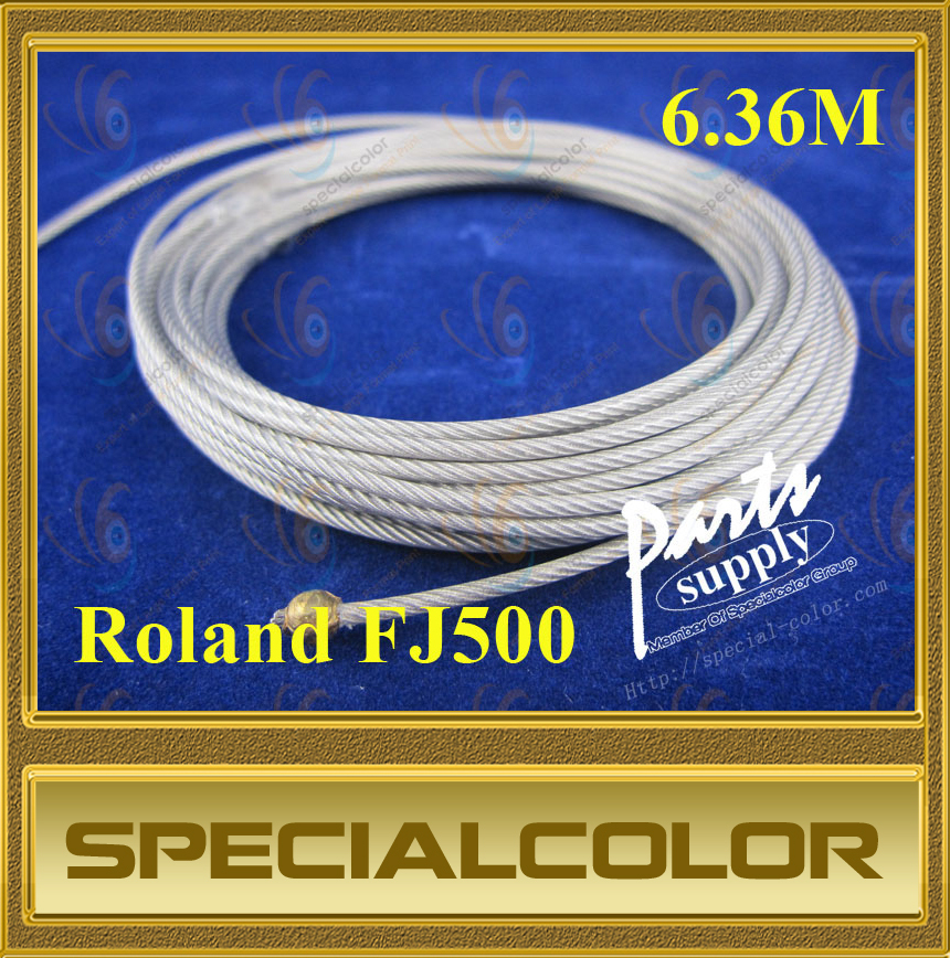 Large Format Printer Carriage wire used for roland FJ500 DX3 Printhead printer (6.36M) hot sales 1pc large format printer of flora lj320p printer polaris printhead ink sub tank selling