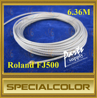 Large Format Printer Carriage wire used for roland FJ500 DX3 Printhead printer (6.36M)