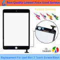 LL TRADER Black Original Quality Touch Panel Replacement for iPad Mini 3 Touch Screen Digitizer + 3M Adhesive Glue Sticker+Tools