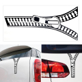 Decorative Refit Car Stickers Auto Accessories Fashion Clothes Zipper Car Styling PET 19*9cm Car Motorcycle decor