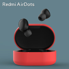 Silicone Case Cover For Earbuds Dust Proof Pouch For Xiaomi Redmi Airdots Protective Case Ultra Thin Earplugs 2yw