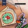 Moleteado mideer niños diy de papel de madera herramientas de plantas de flor de mariposa espécimen de prensa clip de muestra de ciencias naturales juguetes al aire libre