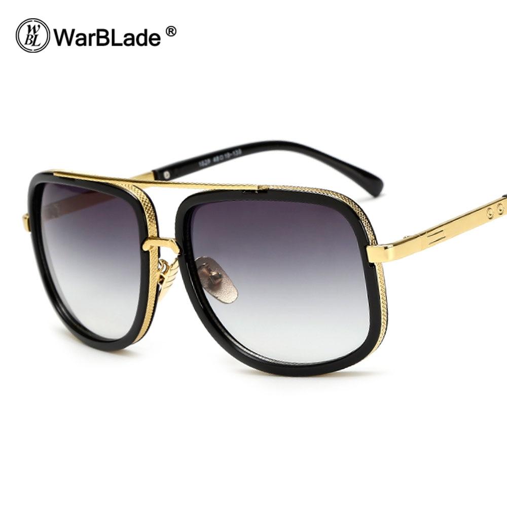 Warblade nagyméretű férfi napszemüveg Férfi luxus márka Női - Ruházati kiegészítők