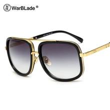 Мужские солнцезащитные очки WarBLade с большими размерами Мужчины Роскошные бренды Женщины Солнцезащитные очки Квадратные Мужские мужские солнцезащитные очки Gafas De Sol для мужчин