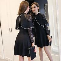 Fashion Spring Autumn Women S Casual Dress Long Sleeve Mini A Line Cute Girl Korean School