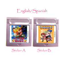 For The Frog The Bell Tolls Memory Cartridge English Spanish Language for 16 Bit Handheld Video Game Console Card Accessories