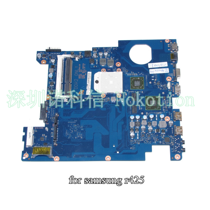 BA92-06034A BA92-06034B Laptop motherboard For samsung NP-R425 R425 HD5430 DDR2 BA92-06353A BA92-06353B BA41-01181A free cpu for samsung np305v5c laptop motherboard ba92 08724a ba92 08724b ba41 01681a 100
