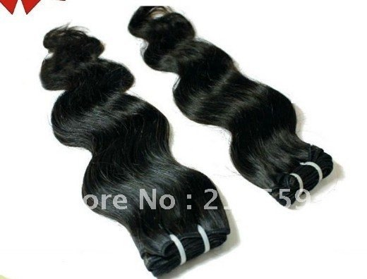 soprano remy hair body wave virgin peruvian human hair extension 3pieces/lot  dhl free shipping