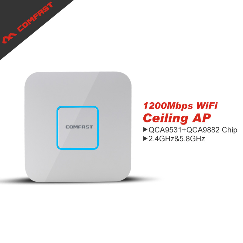 1200mbps Dual Band wireless WiFi AP 2.4G+5.8G  Wi fi Access Point router Comfast CF-E355AC WiFi Range extender Signal Booster порт вах h3c волшебники h3c волшебное r200 версия 1200m gigabit dual band wireless router gigabit fiber частный домашний маршрутизатор wi fi
