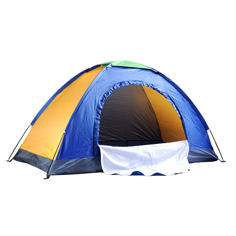 ФОТО Double single tent Double tents outdoor tent wild camp 004 tents wholesale