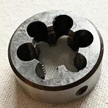 O envio gratuito de 1 PC Manual Die M27 * 1.0/1.5/2.0/3.0mm threading morrer para processamento de aço de cobre de alumínio de ferro da peça de trabalho