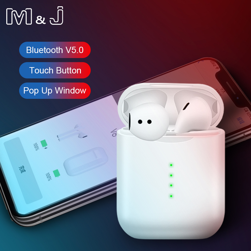 8ef45b2ef3b M&J V8 TWS Pop-up Wireless Earphone 6D Super Bass Bluetooth 5.0 Earphones  PK i20 i10 TWS i12 tws lk Chip te9 i30 i60 i88 tws