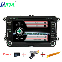 LJDA 2din 7inch Capacitive Touch Sreen 800 480 Wince 6 0 Systerm Car DVD Player GPS