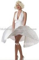 FREE SHIPPING S XL 8547 women fun celebrity Marilyn Monroe costume dress party costume fancy dress costume
