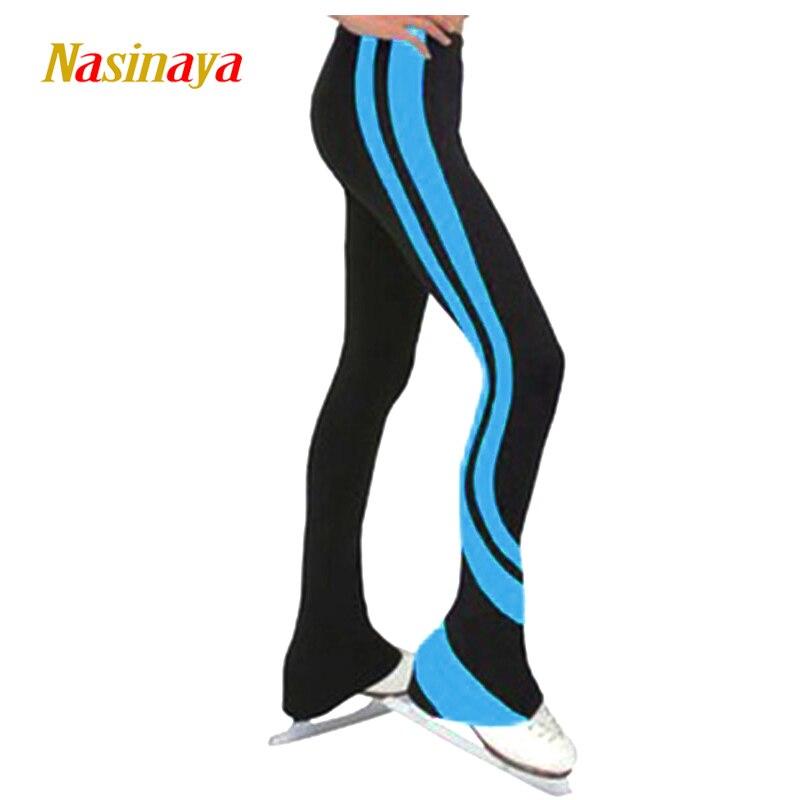 Personnalisé Figure De Patinage pantalon long pantalon pour Fille Femmes Formation Concurrence Patinaje Glace De Patinage Chaud Polaire Gymnastique 6
