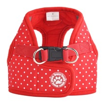 Adjustable Soft Nylon Mesh Small Dog Harness Vest Step-in Breathable Pet  for puppy collar