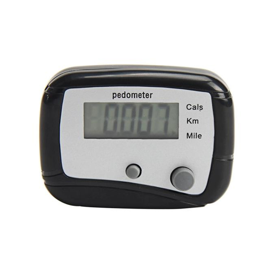Hot Sale LCD Pedometer Step Walking Jogging Calorie Counter Distance Fitness+ Belt Clip Digital Pedometers running stappenteller
