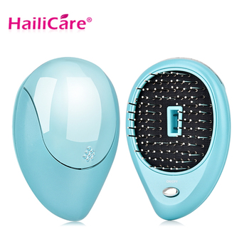 Portable Electric Ionic Hairbrush Hair Massage Comb Hair Magic Beauty Brush Comb Massage Home Travel Hair Styling Tool 1