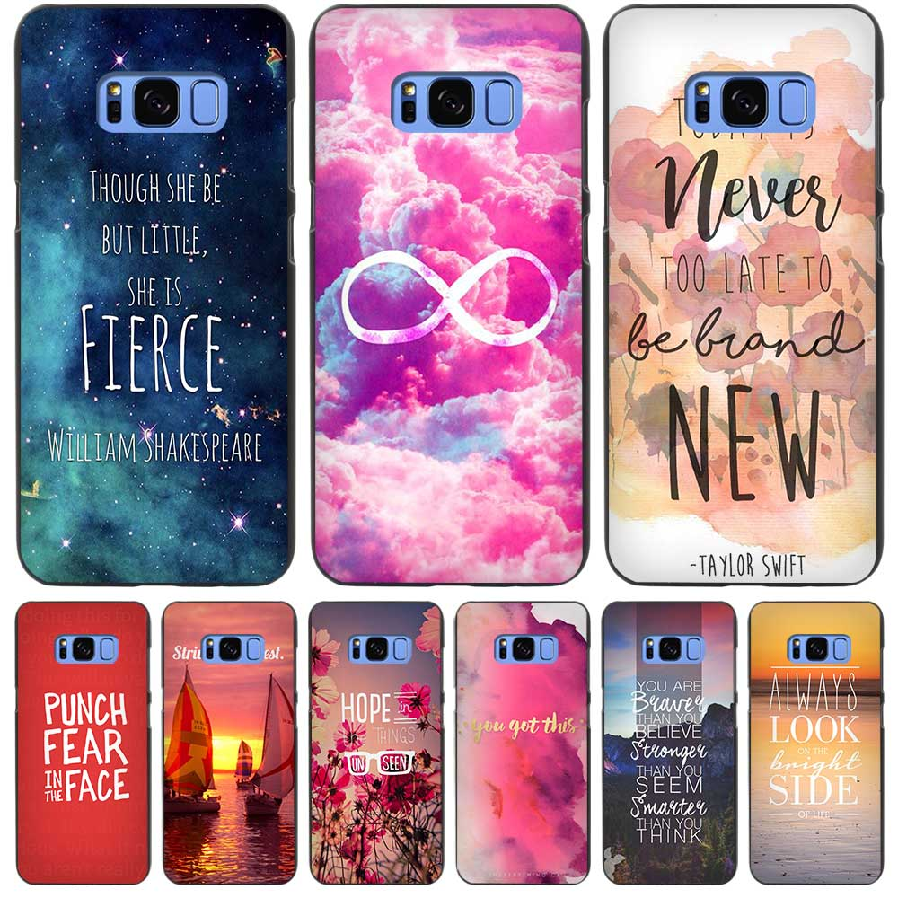 bright red be happy quote black case cover shell coque for samsung galaxy s3 s4 s5 mini s6 s7 s8. Black Bedroom Furniture Sets. Home Design Ideas