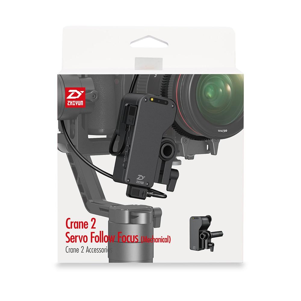 ZHIYUN Official Crane 2 Servo Follow Focus for All Canon Nikon Sony Panasonic DSLR Camera With Zhiyun Handeld Gimbal 8