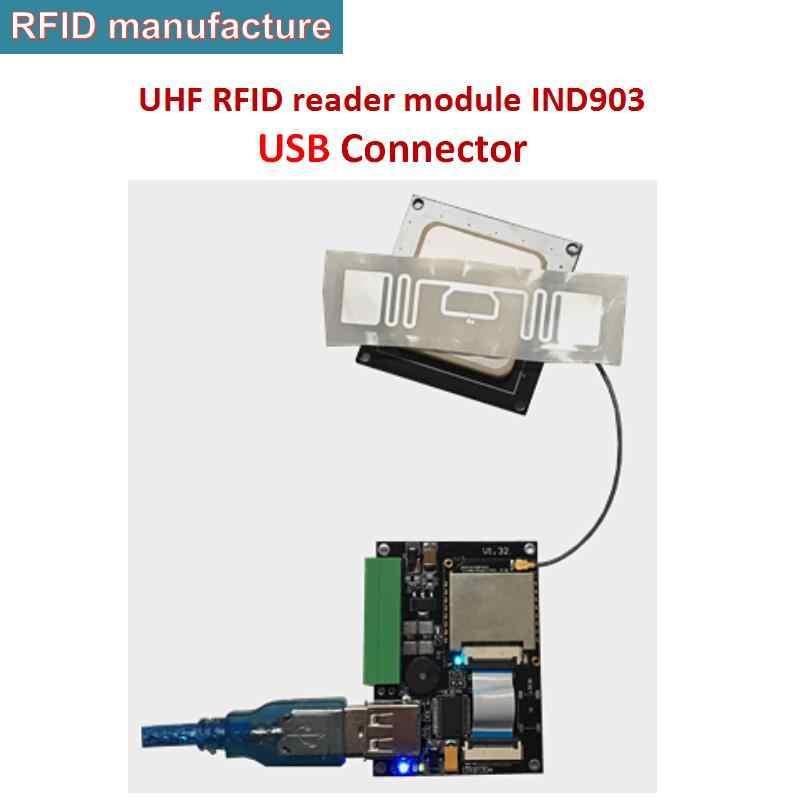 Moduł czytnika rfid uhf bez rozwoju pokładzie wsparcie 0-3dbi antena do ręcznego z systemem android czytnik kontroli dostępu do pojazdu