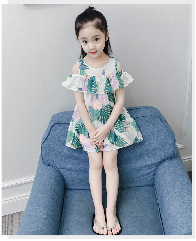 New Spring Kids Girls Dresses 2018 Cotton Girl Dress Clothing Long Sleeve Little Girl Knee-length For 4-16y Child Clothes 6ds224 цена
