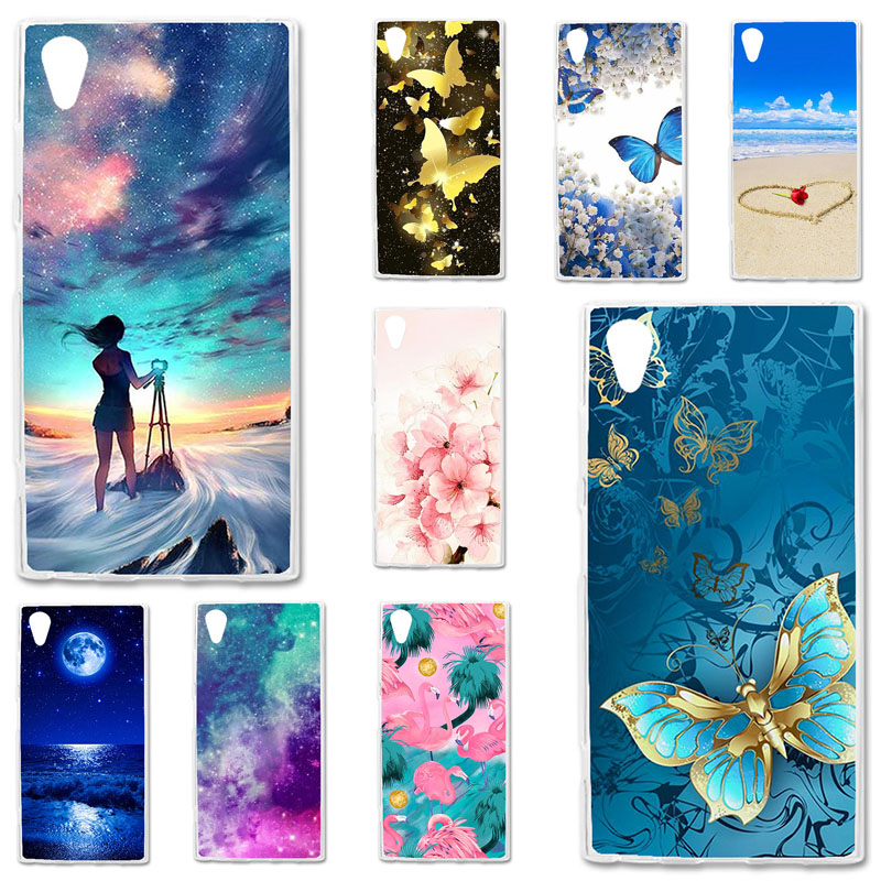 TPU Cases For Sony Xperia XA1 Plus Case Silicone Bumper For Sony Xperia XA1 Plus G3412 G3421 G3423 G3416 5.5 inch Phone Cover image