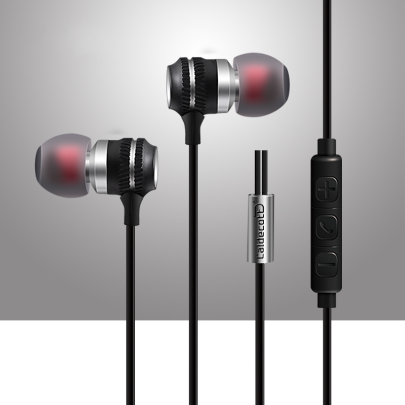 Original Brand Metal Magnetic Earphone Headset Mic Earbud Head phone Noise Isolating Heavy Bass Sound in ear for iphone Samsung plextone x53m magnetic metal mega bass in ear earphone for iphone 4s 5 6s samsung s6 s7 lg g3 g5 mobile phone earphones with mic