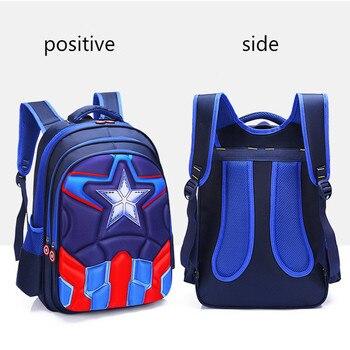 Children 3D Cute Animal Design Backpack Boys Girls Primary School Kids Kindergarten Schoolbag 4