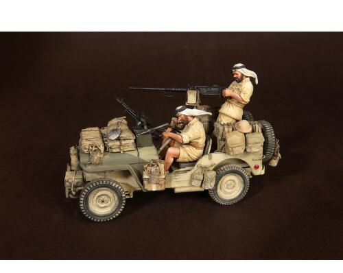 1/35 Crew Of The On The Move (WITHOUT CAR )   Resin Figure Model Kits Miniature Gk Unassembly Unpainted