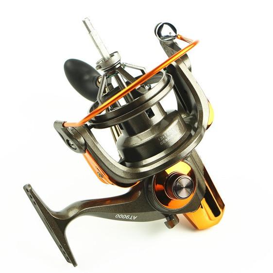 13+1 BB Big Game Spinning Fishing Reel AT 8000 9000 Surf Casting Reels Free Shipping Saltwater Reels