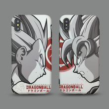 Dragon Ball goku Vegeta Super DBZ Anime phone case for coque iPhone 7 7 plus 8 6s plus xs max case silicon for iphone cover X XR цена и фото