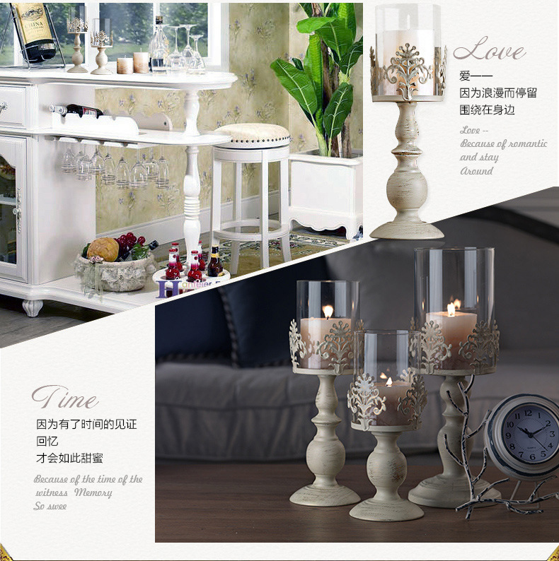 Elegant Candle Holder Cube Stand Candle Candlestick Metal Base Craft Votice large Glass Candles Wedding Candle Holders