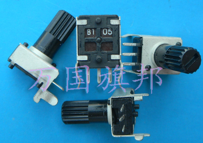 Free Delivery.09 Year Type Single Union 0931 Potentiometer B1M B105 10901 Euro Horizontal Long Handle