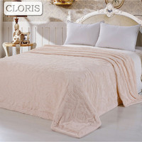 CLORIS Bedspread Blanket Sofa Blanket Warm Soft Blankets For Sofa Bed Cars Portable Home Textile Blanket For Friend Wedding Gift