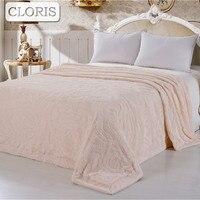 CLORIS Bedspread Blanket Sofa Blanket Warm Soft Blankets For Sofa Bed Cars Portable Home Textile Blanket For Friend Wedding Gift