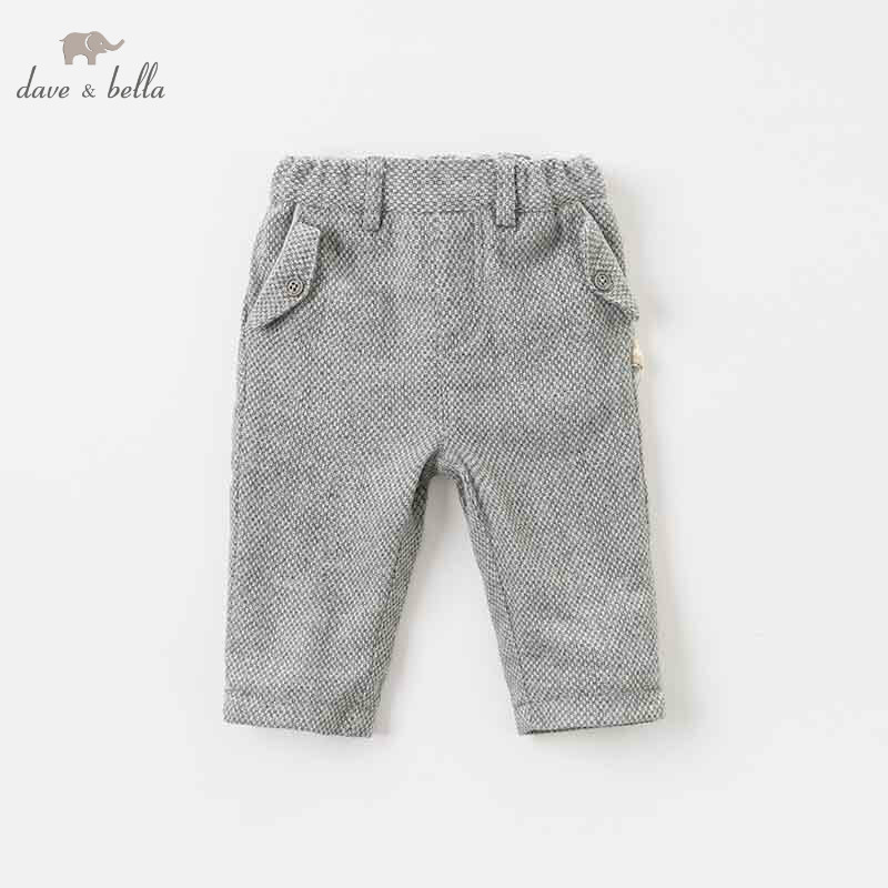 DB9222 dave bella autumn baby boys fashion pants children full length kids pants infant toddler plaid trousers dba7845 dave bella autumn baby boys fashion jeans children full length kids denim pants infant toddler trousers